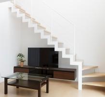 スチール製サンダー階段